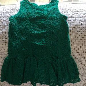 Cute little green  dress
